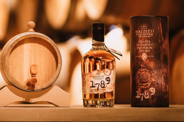 Premiate grappe e brandy di Mazzetti d Altavilla