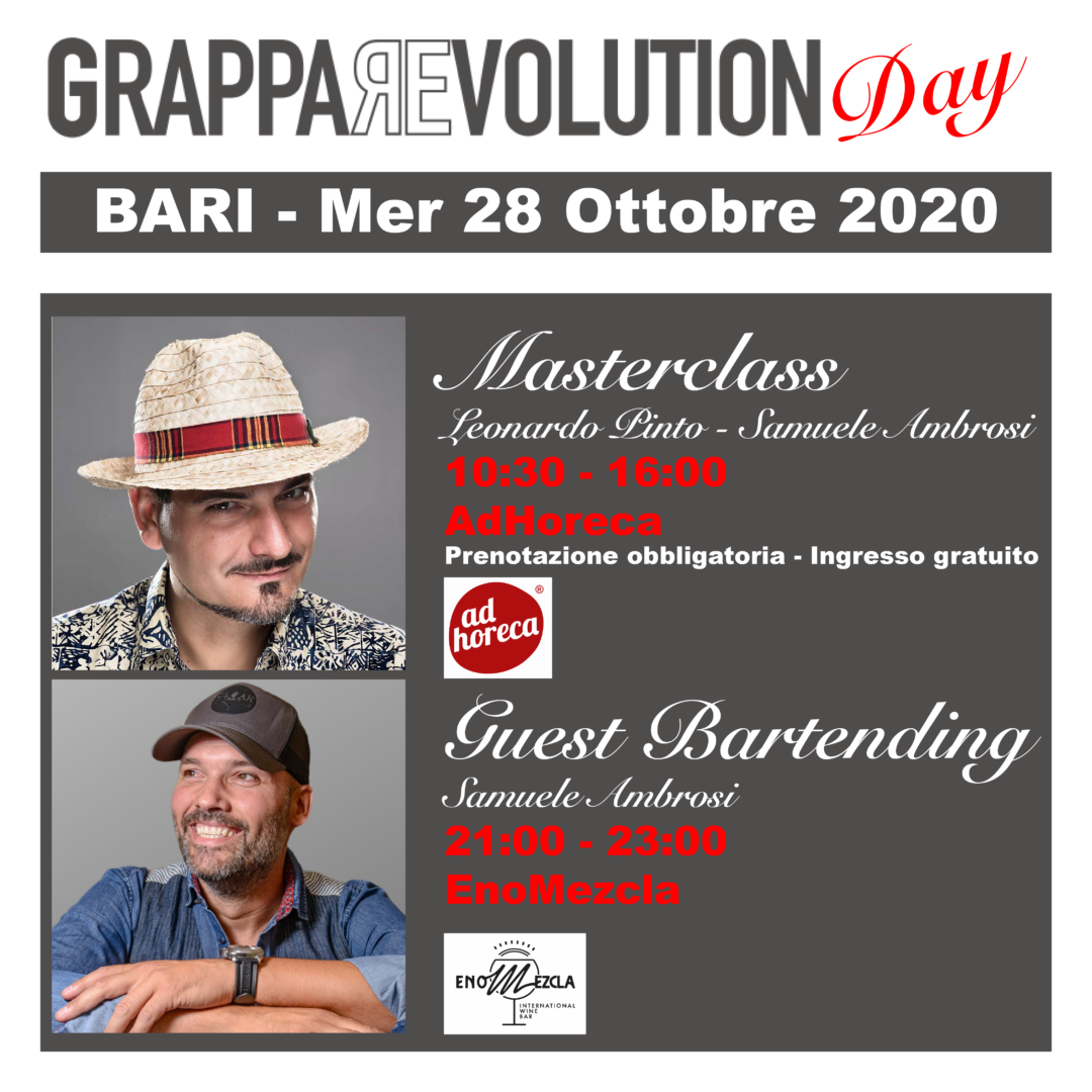 GrappaRevolution Day, Bari, Grappa Revolution, square