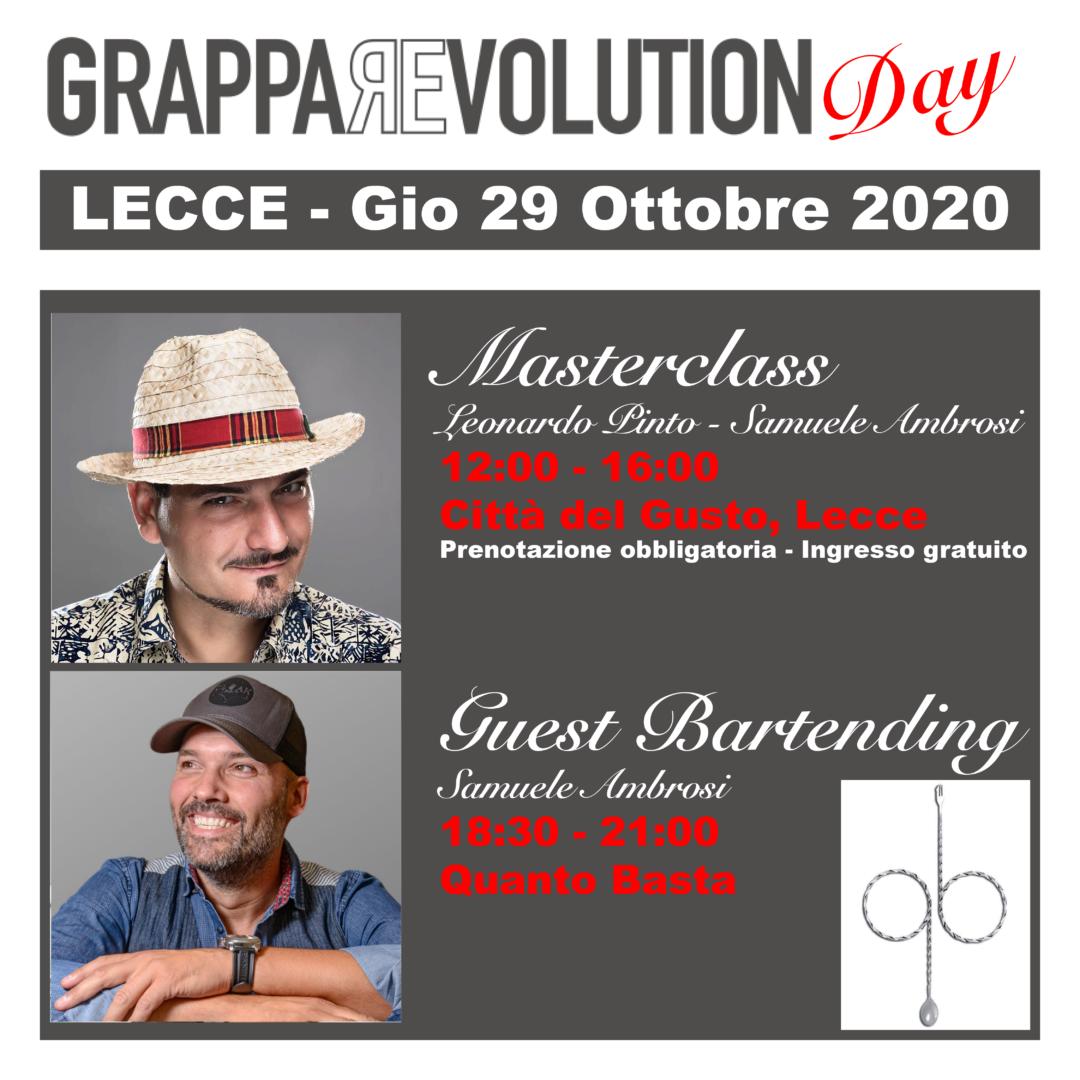 GrappaRevolution Day Lecce